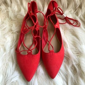 Women's Old Navy Lace Up Flats